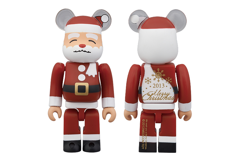 medicom toy 2013 merry christmas 100 bearbricks