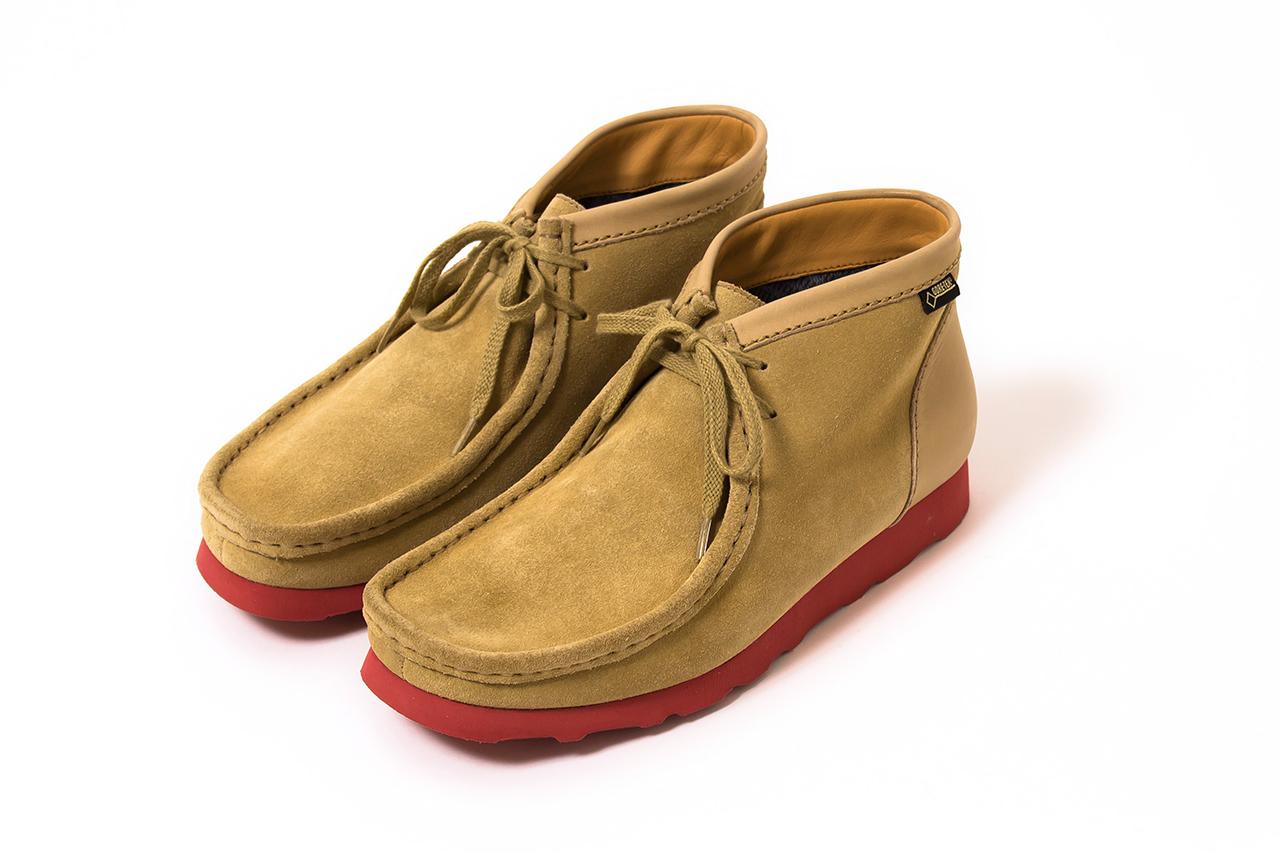 nanamica x Clarks Originals 2013 Fall/Winter Wallabee Boot GORE-TEX