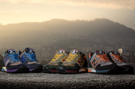 "New Balance M576 ""Three Peaks Challenge"" Pack Preview"