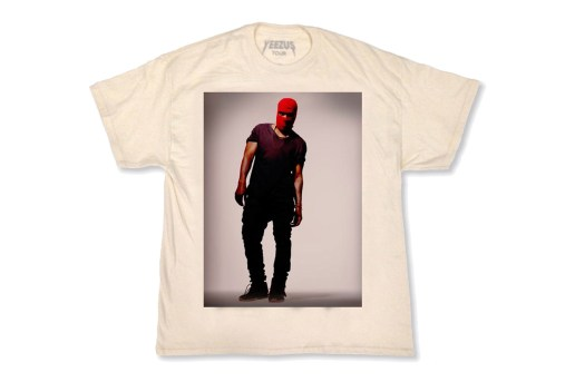 New Yeezus Tour Merchandise Available Online