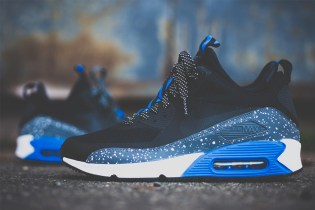 Nike Air Max 90 Sneakerboot NS Royal/Metallic