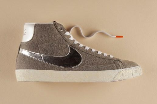 BEAMS x Nike Blazer Mid Vintage QS Granite/Silver/White