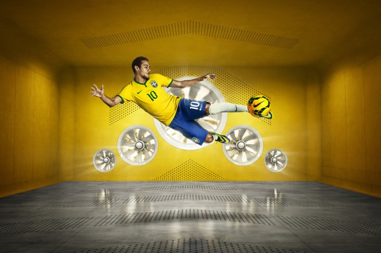 Nike Debuts Brazil's 2014 Football Kit