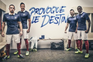 Nike Unveils France's 2014 Football Kit