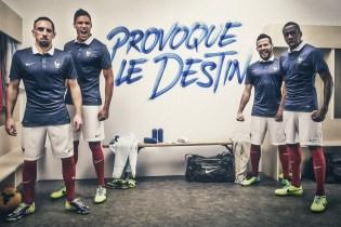 Nike Unveils France's 2014 Football Kit
