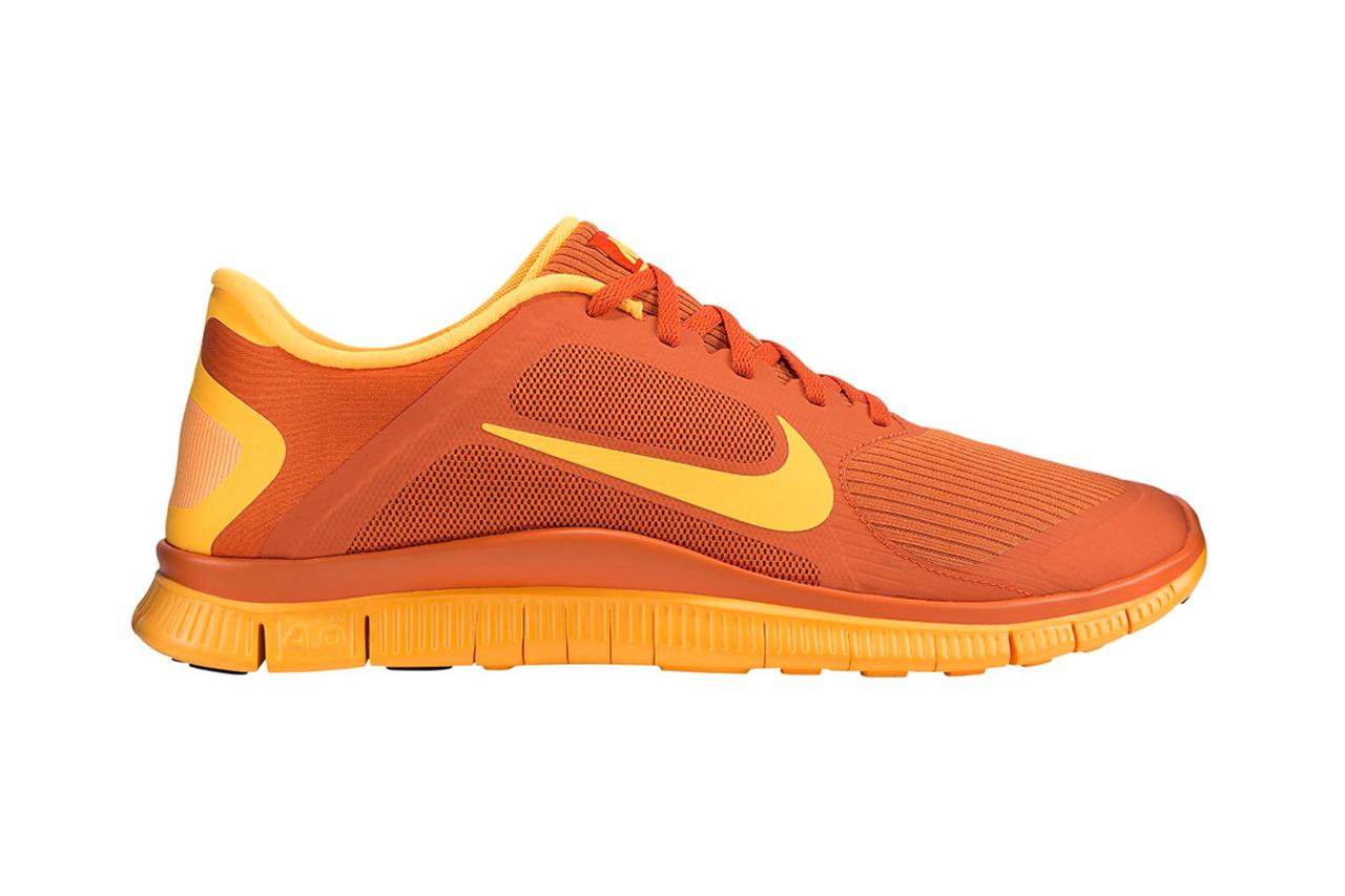 nike free 4 0 urban orangelaser orange