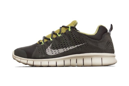 Nike Free Powerlines+ II LTR Newsprint/Dusty Grey-Parachute Gold-Volt