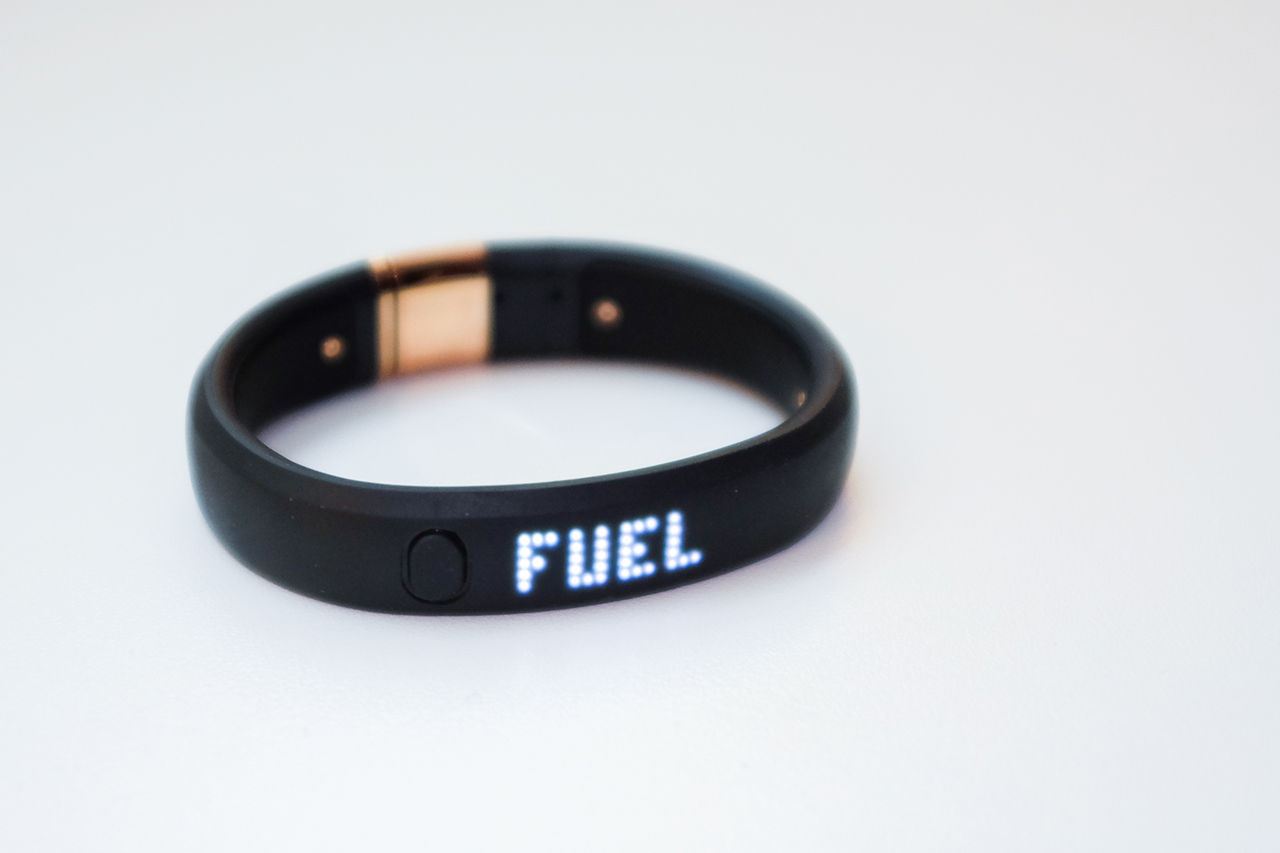 nike fuelband metaluxe se rose gold