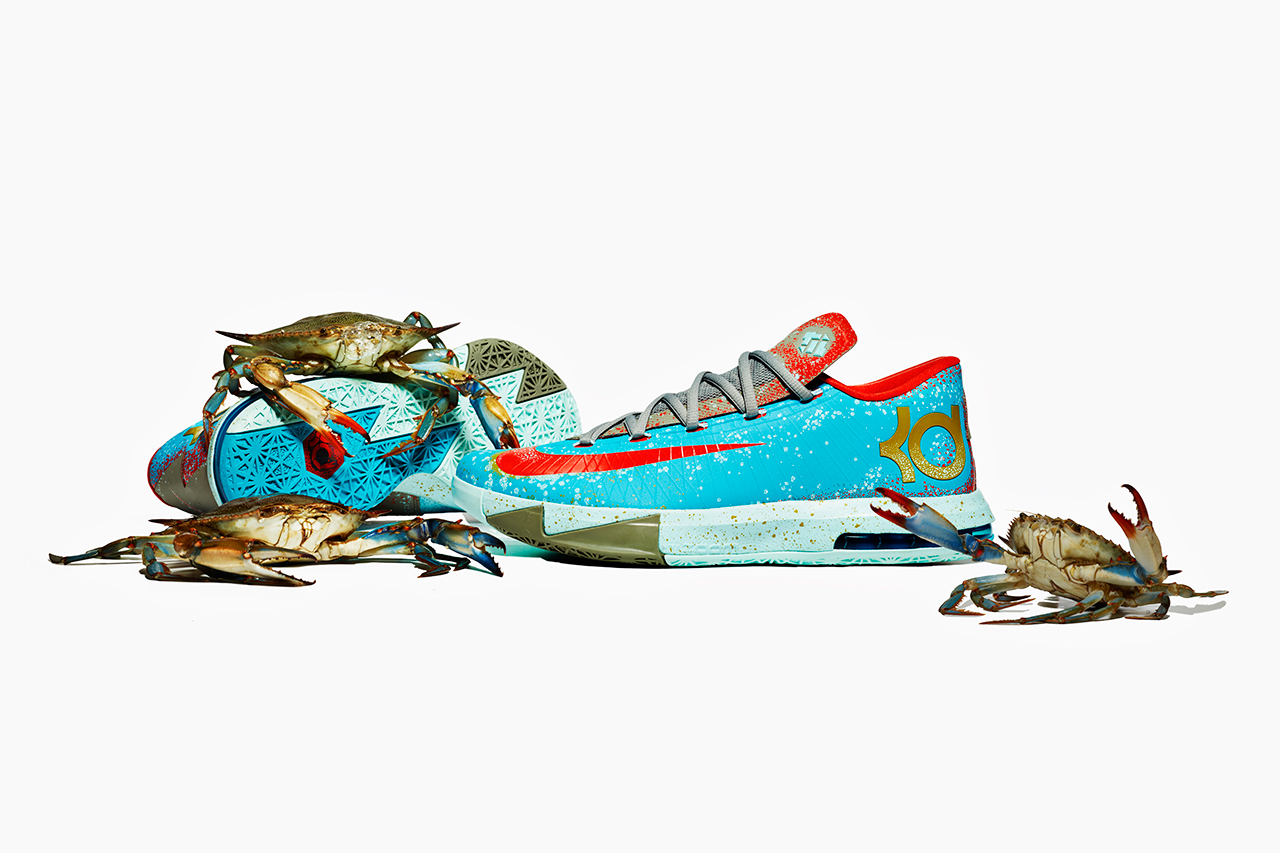 "Nike KD VI ""Maryland Blue Crab"""