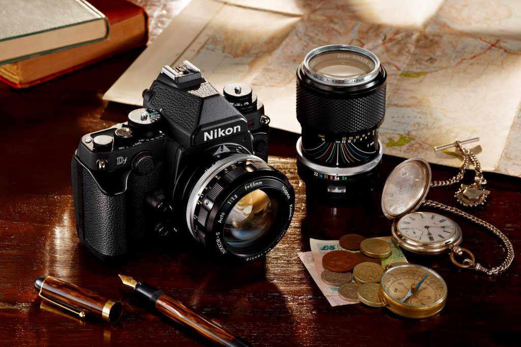 nikon df compact full frame camera