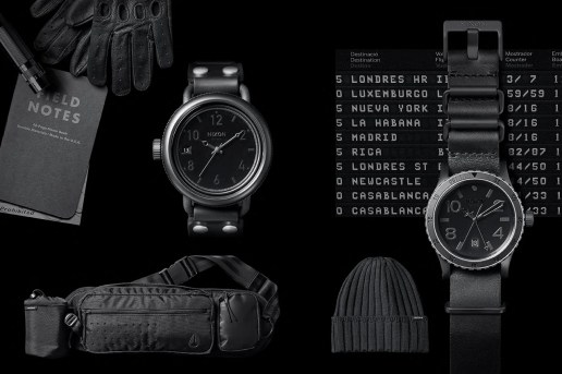 Nixon Japan 2013 Holiday Limited All Black Collection