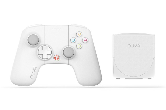 OUYA 2013 Limited Holiday White Edition