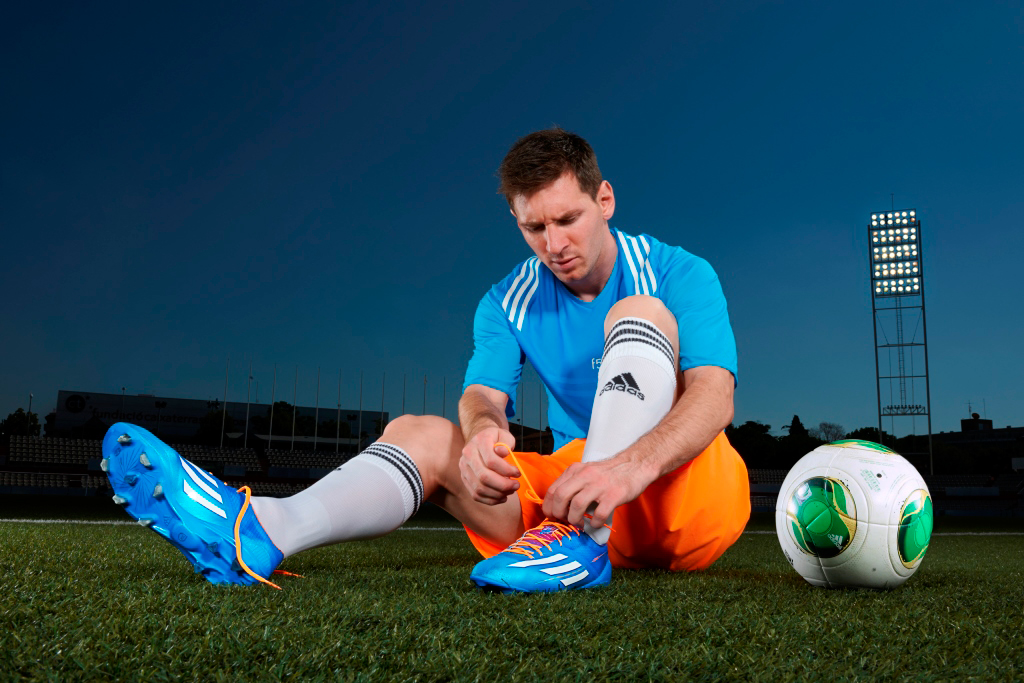 Özil, Messi and Cavani Launch Samba Collection with adidas Soccer