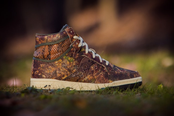 "Packer Shoes x Saucony Hangtime ""Woodland Snake"""