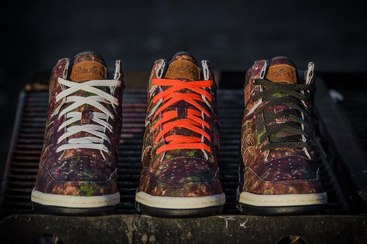 "Packer Shoes x Saucony Hangtime ""Woodland Snake"""