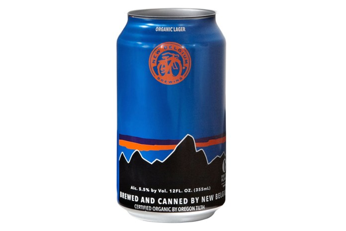 Patagonia x New Belgium Brewing California Route Lager