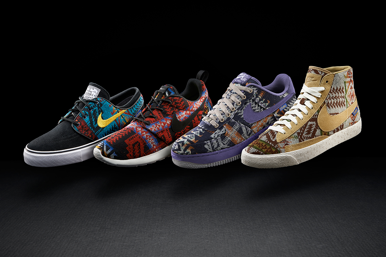 pendleton x nikeid 2013 14 holiday collection
