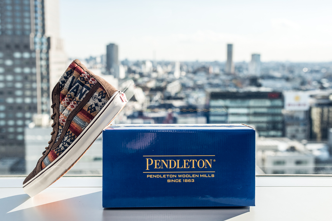 Pendleton x Vans Japan 2013 Fall/Winter Collection