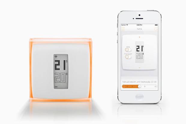 Philippe Starck Designs Netatmo's Smartphone-Controlled Thermostat
