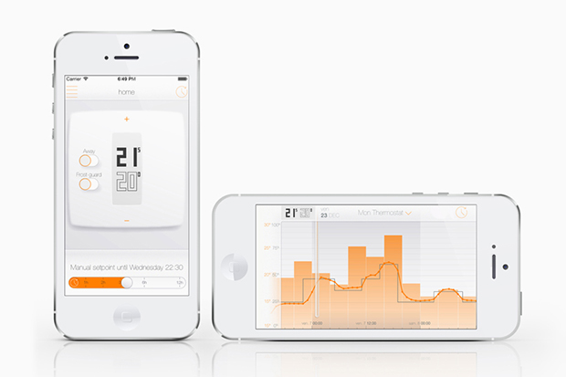 philippe starck designs netatmos smartphone controlled thermostat
