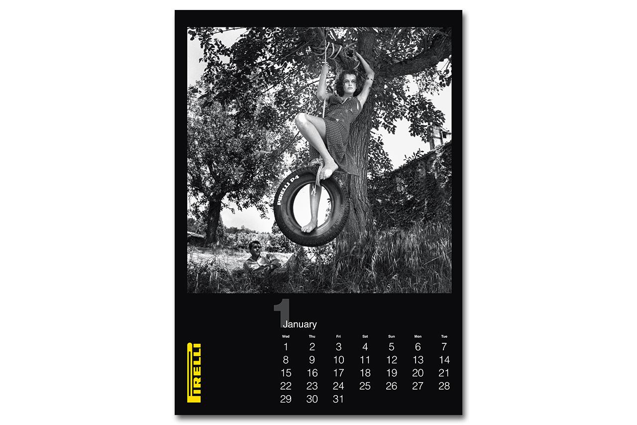 Pirelli Helmut Newton 2014 Cal: 27 Years in the Making