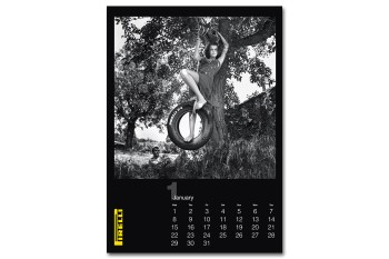 Pirelli Helmut Newton 2014 Cal: 27 Years in the Making