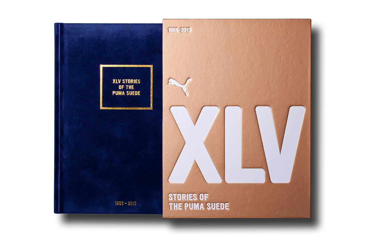puma presents xlv stories of the puma suede limited edition book