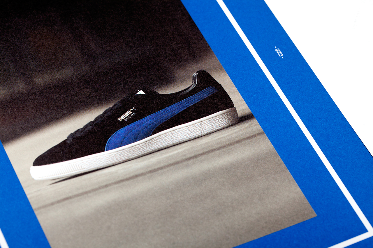 PUMA Presents XLV STORIES OF THE PUMA SUEDE' Limited Edition Book