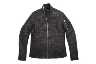 "Rick Owens' $58,000 USD Mollino Crocodile Jacket for Barneys & Jay Z's ""A New York Holiday"""