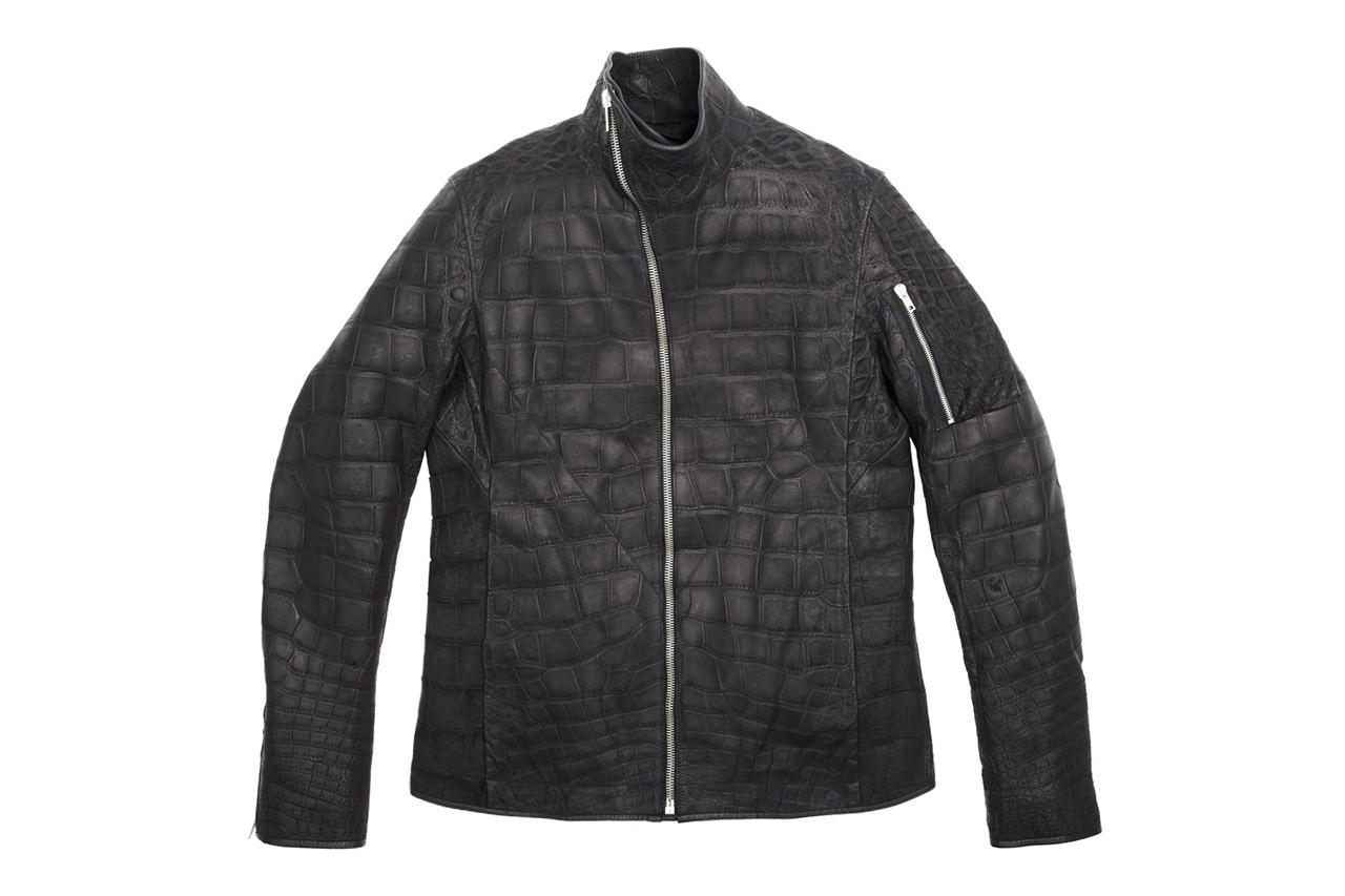 """Rick Owens' $58,000 USD Mollino Crocodile Jacket for Barneys & Jay Z's """"A New York Holiday"""""""
