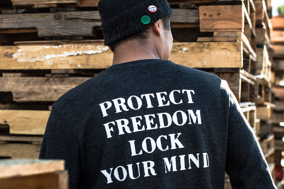 """RVCA x FUCT """"Protect Freedom"""" Capsule Collection"""