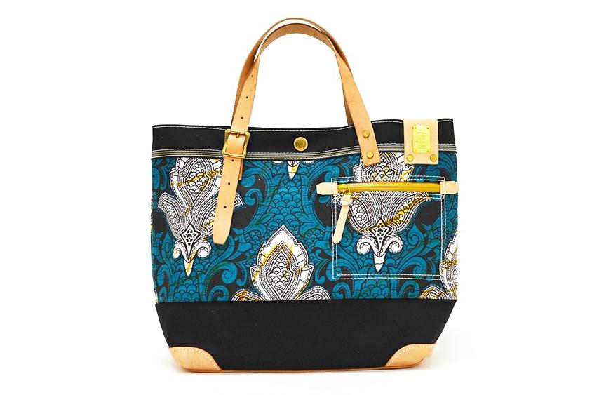 SHIPS JET BLUE x master-piece 2013 Fall/Winter Batik Tote Bag