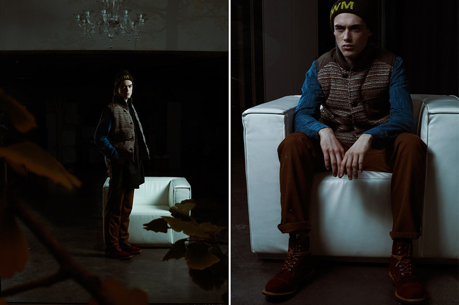 "Slam Jam Socialism 2013 Fall/Winter ""STAND BY"" Lookbook"
