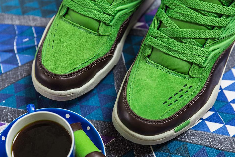 "Sneakersnstuff x Reebok Pump Twilight Zone ""Punschrulle"""