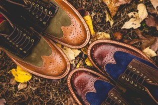 Social Status x Grenson 2013 Holiday Wingtip Brogue Boot Preview