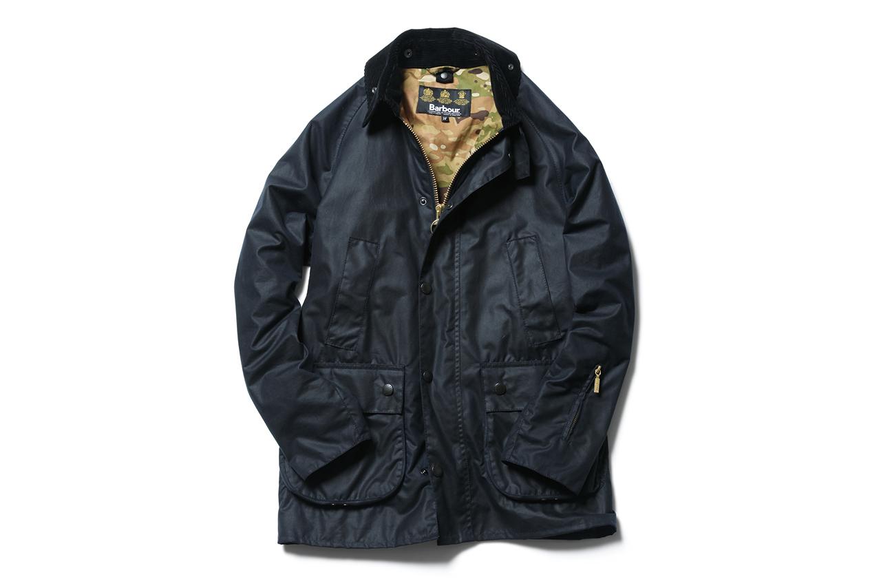sophnet x barbour 2013 fallwinter bedale jacket