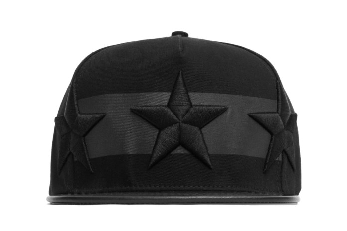 Stampd All Black Star Hat