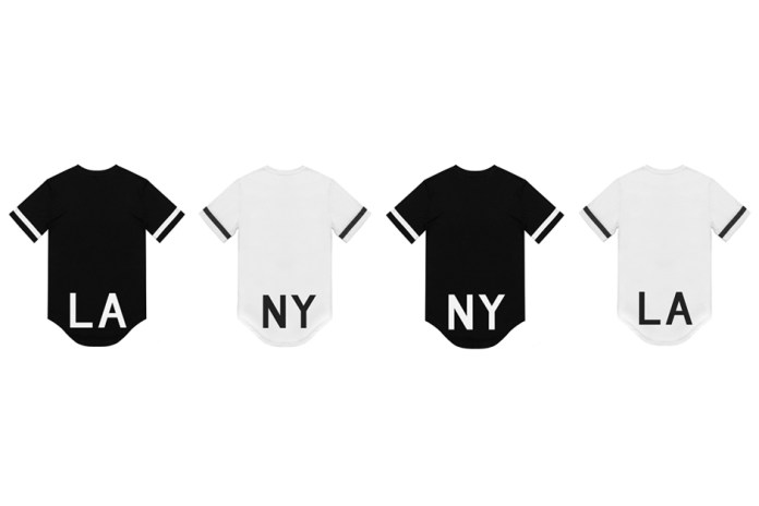 "Stampd ""LA"" and ""NY"" Elongated T-Shirts"
