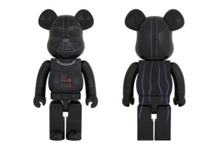 "Star Wars x Medicom Toy 1000% ""Darth Vader"" Bearbrick"