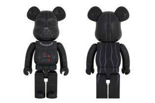"""Star Wars x Medicom Toy 1000% """"Darth Vader"""" Bearbrick"""