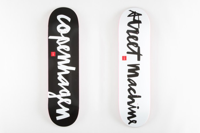 Streetmachine Copenhagen x Chocolate Skateboards 2013 Collection