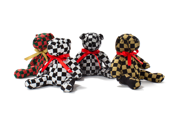 Stussy 2013 Holiday Checker Bear