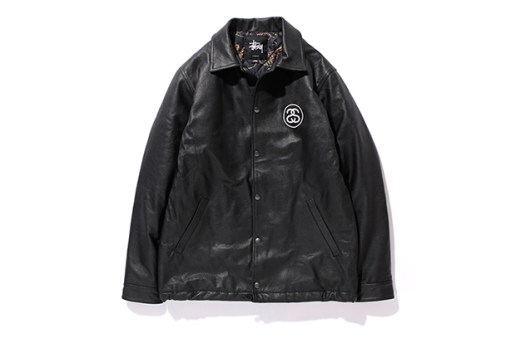 "Stussy Japan ""Brass Leather Series"""