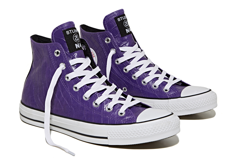 stussy for converse 2013 fallwinter chuck taylor all star hi