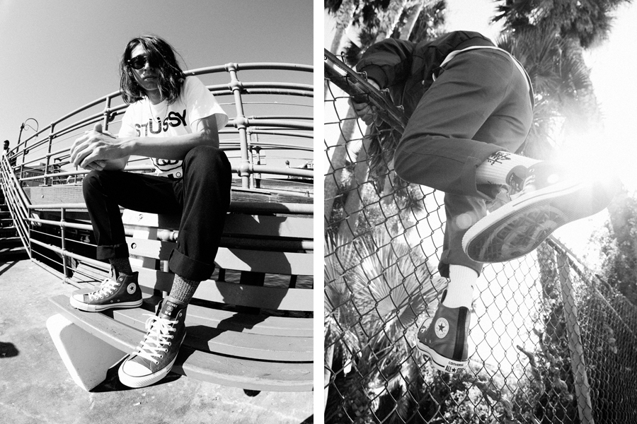 stussy for converse 2013 fallwinter chuck taylor all star hi lookbook