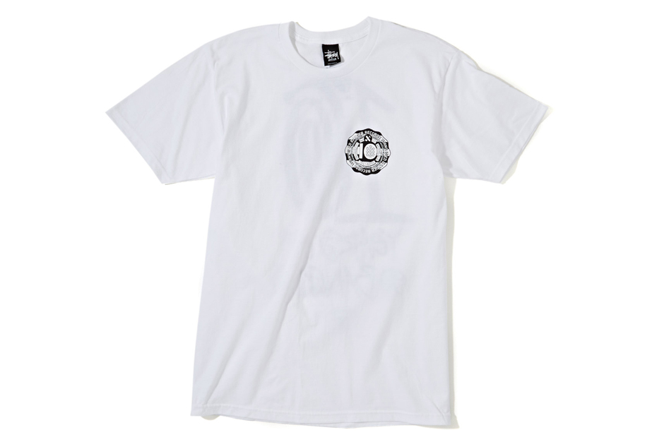 stussy nyc x ed banger club 75 10 year anniversary t shirts