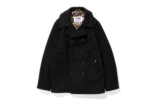 Stussy x Schott 2013 Winter Savannah Pea Coat