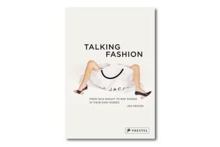 'Talking Fashion' Book by Jan Kedves and Prestel Publishing