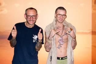 Terry Richardson Photographs RiFF RaFF at a Wax Museum