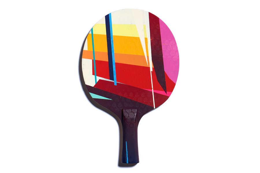 The Art of Ping Pong for BBC Children in Need Art Show